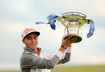 Rickie Fowler - Scottish Open Champion 2015